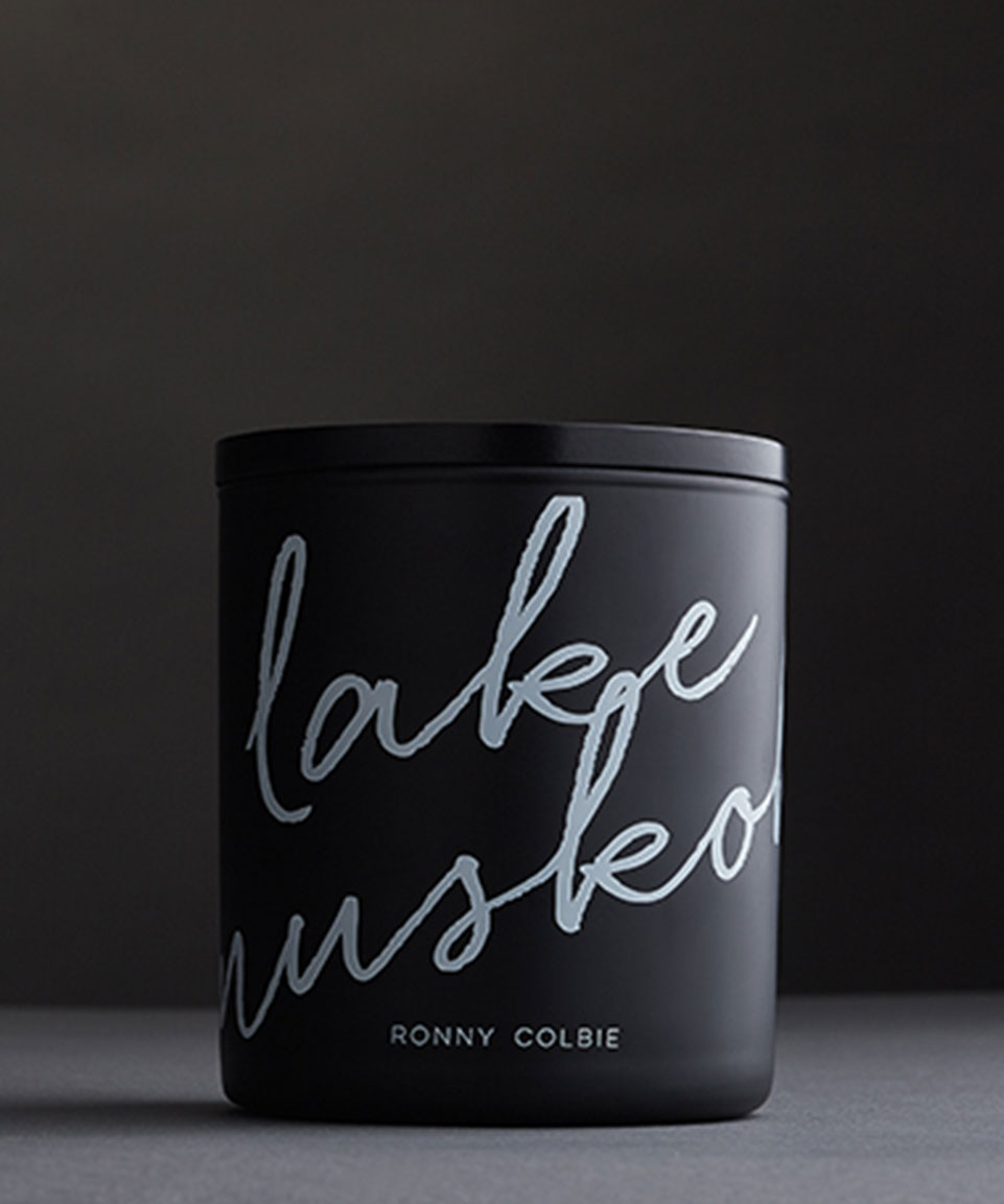 Ronny Colbie Lake Muskoka Candles