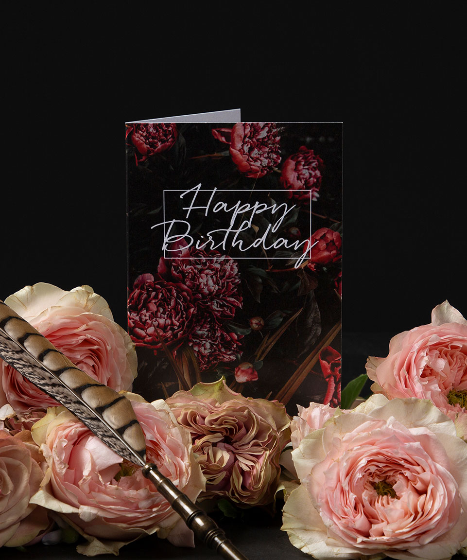 Ronny Colbie Happy Birthday Tree Peonies