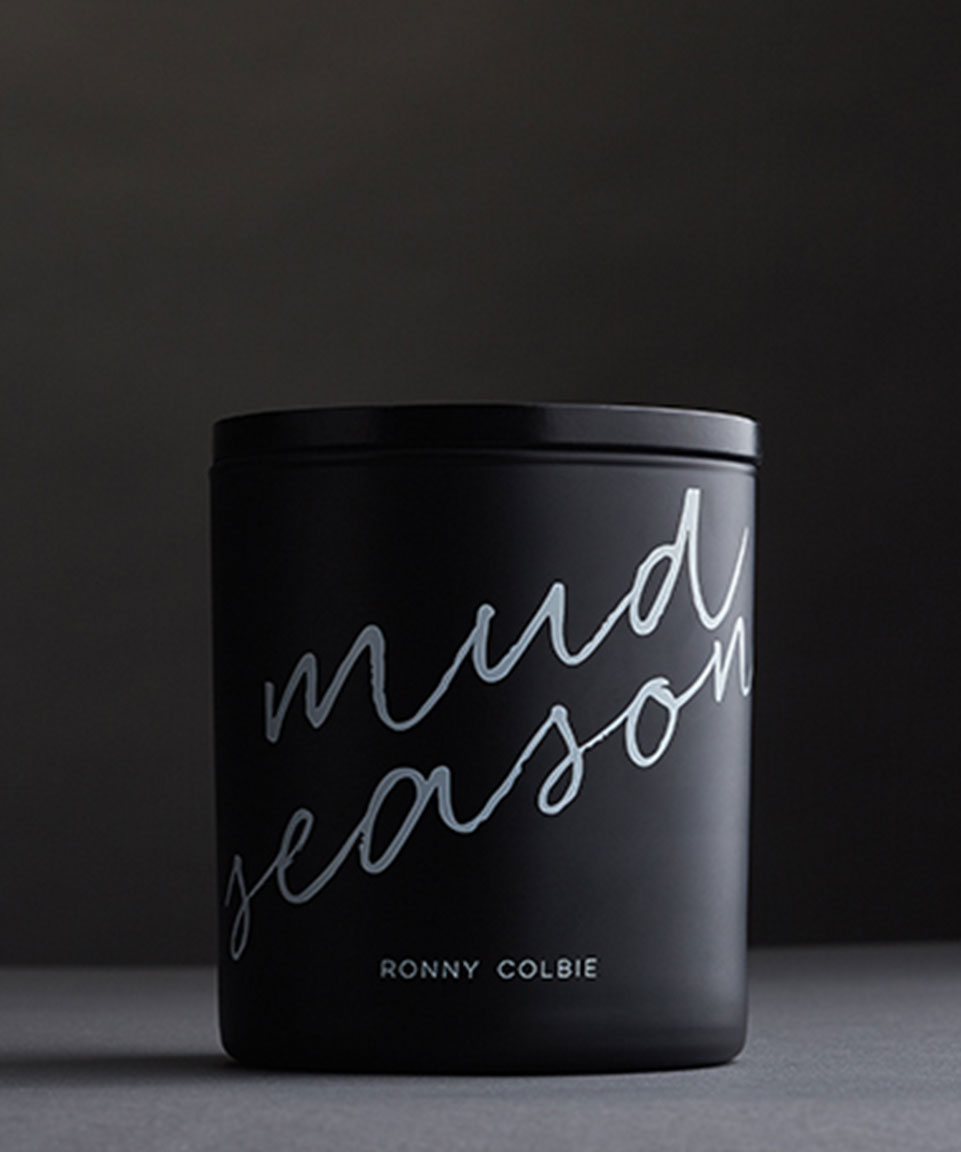 Ronny Colbie Mud Season Candles