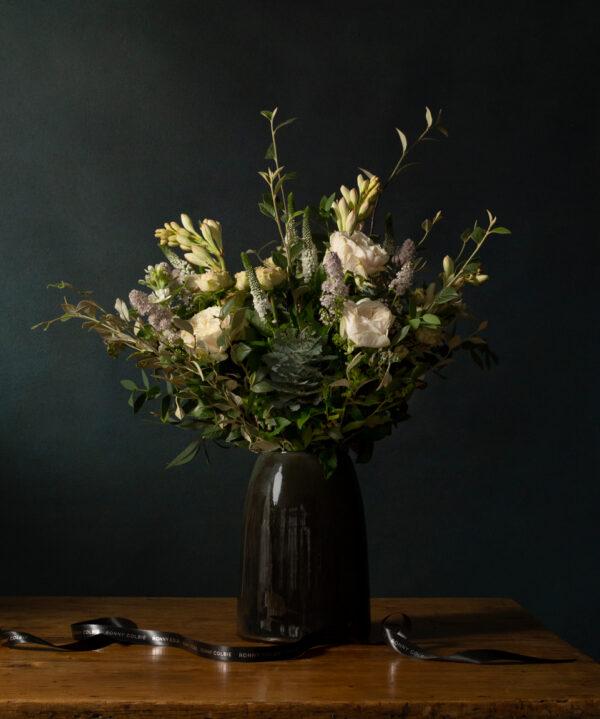 Ronny Colbie Henley bouquet in vase