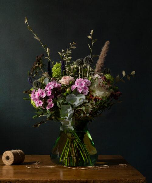 Ronny Colbie Rye Bouquet in Vase